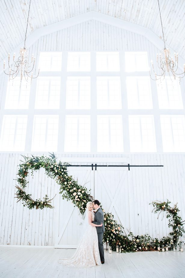 Huge Rustic Wedding Garland - Tina Joiner Photography
