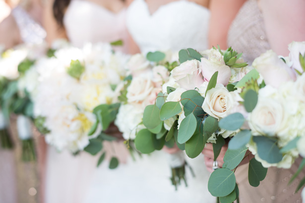 Matching Bridal Party Bouquets - Shane Hawkins Photography