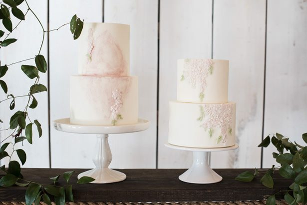 Modern Wedding Cake - Tina Joiner Photography