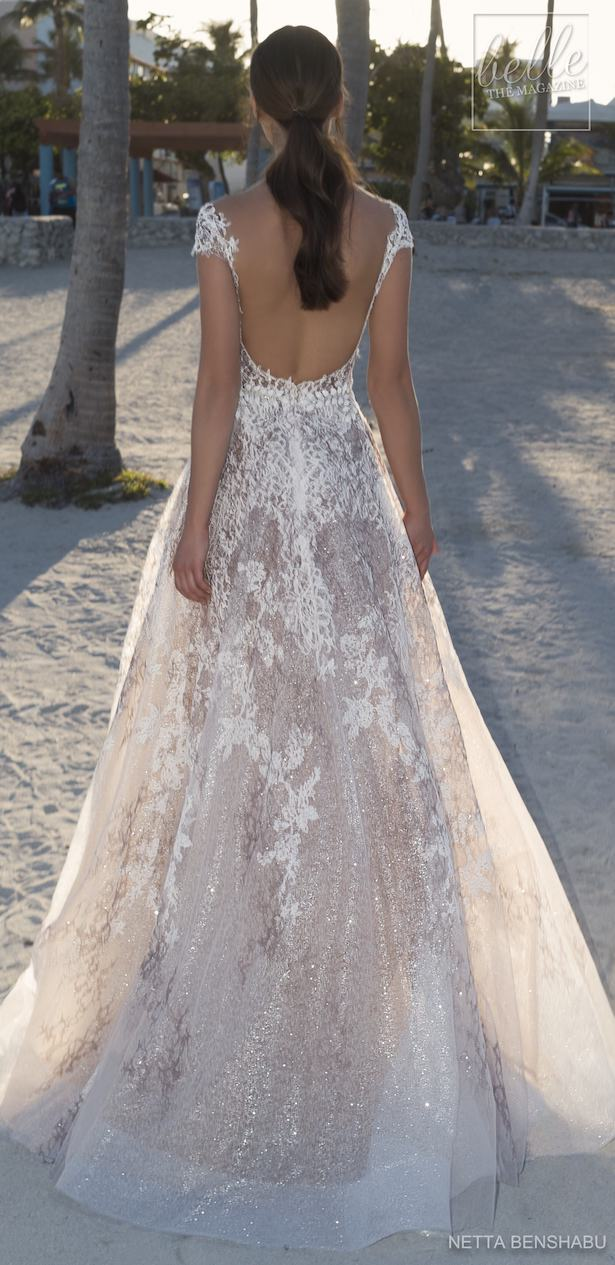 Netta BenShabu 2019 Wedding Dress Collection - Une Fleur Sauvage