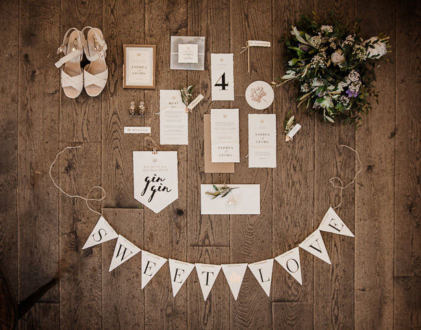 Organic Modern Wedding Details - What A Day Wedding Photography