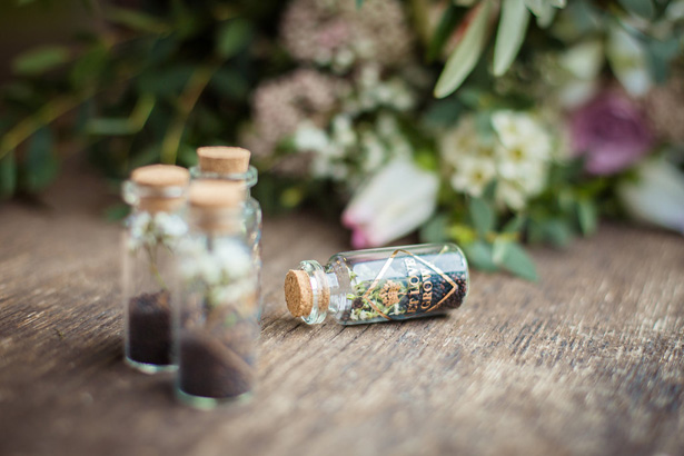 Organic Modern Wedding Favors - What A Day Wedding Photography