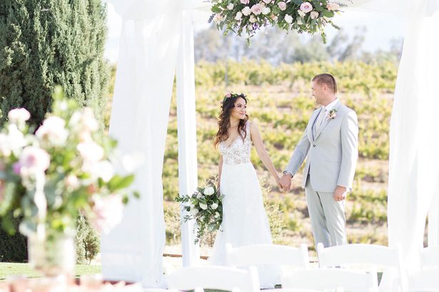 This Winery Wedding Inspiration is your Guide to Rustic Romance
