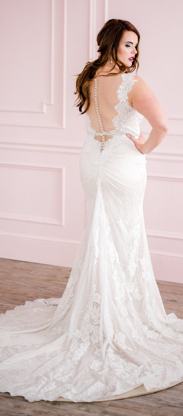 Plus size Wedding Dress for curvy bride by Maggie Sottero -Meghan Rose Photography