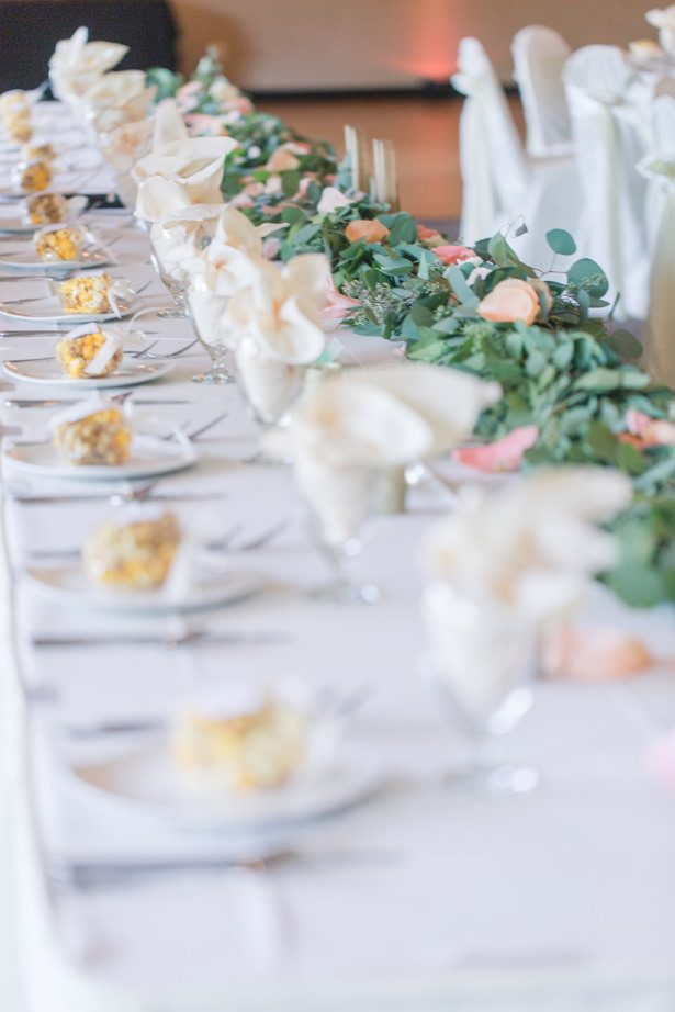 Pretty Wedding Place Settings - Alisha Marie Photography