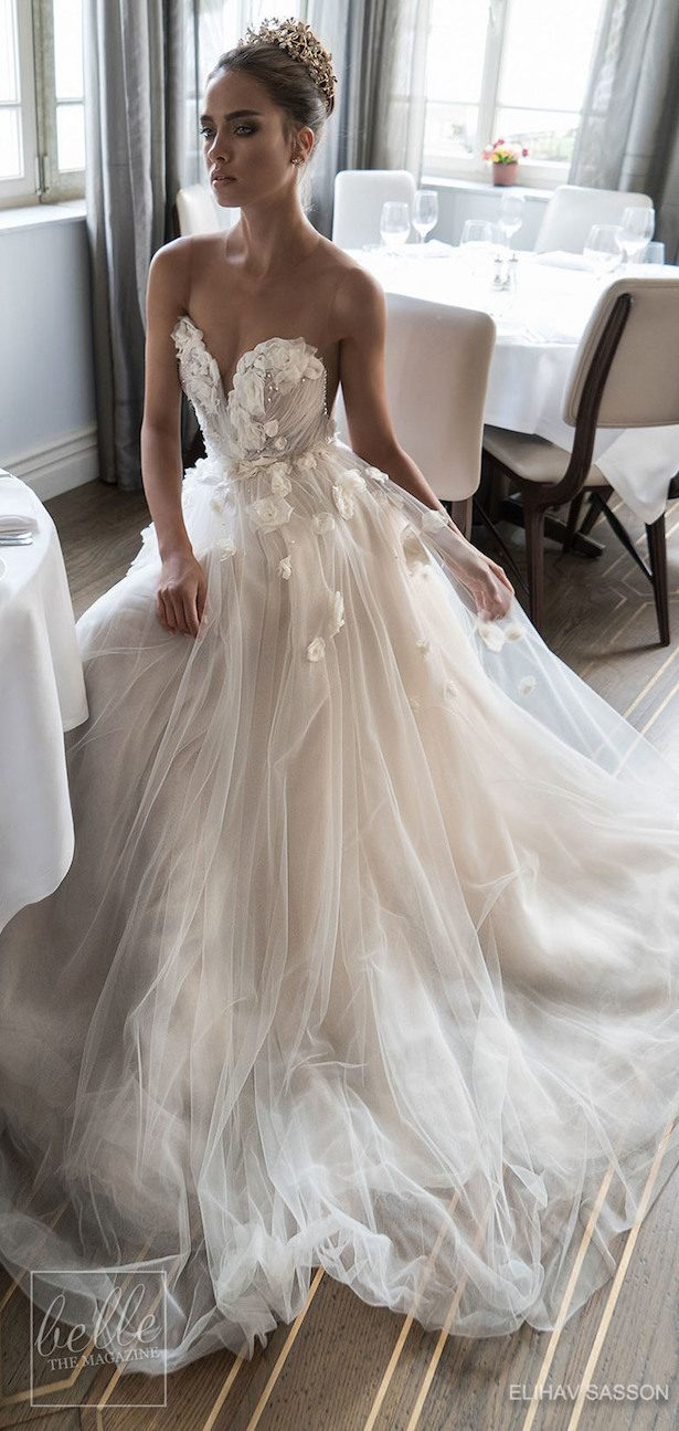 Princess Ball Gown Wedding Dress - Elihav Sasson