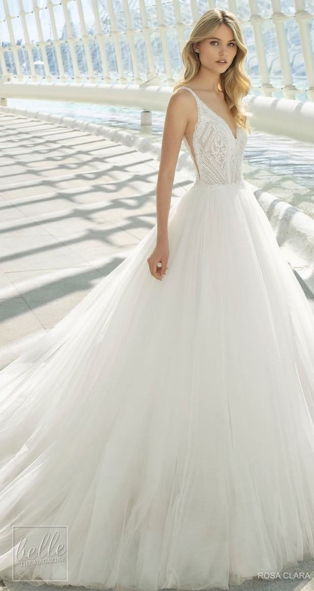 Princess Ball Gown Wedding Dress - Rosa Clara