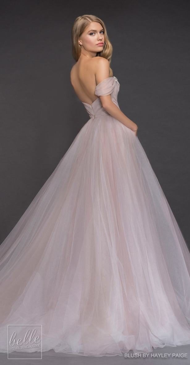 Princess Ball Gown Wedding Dress - Blush by Hayley Paige