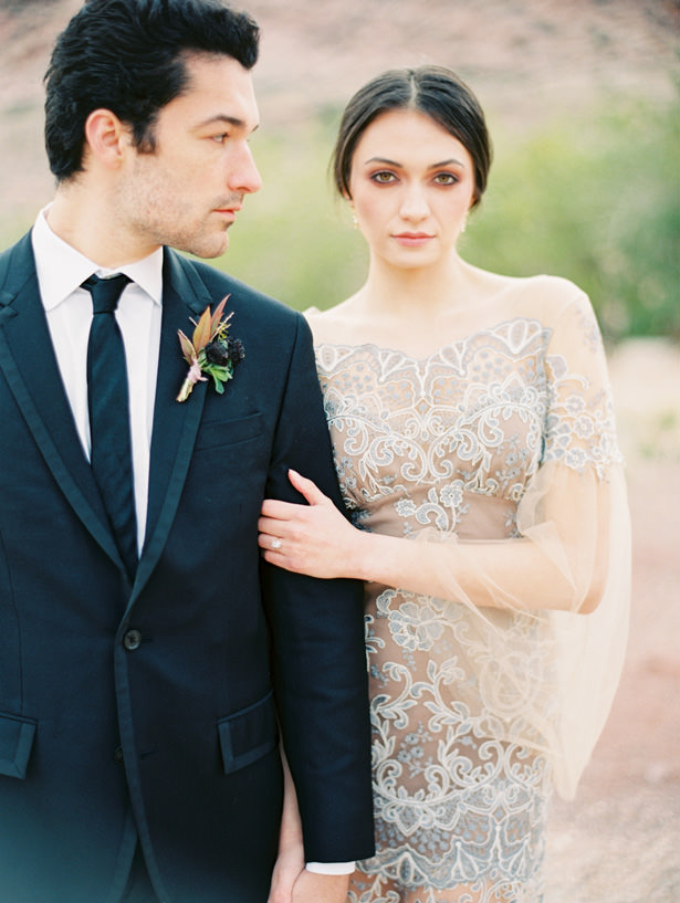 Romantic Desert Wedding - Matthew Nigel Photography