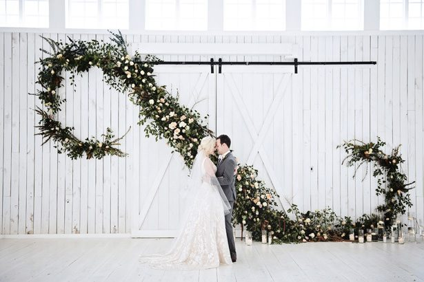 Whimsical Farmhouse Wedding Inspiration with Gorgeous Pops of Greenery