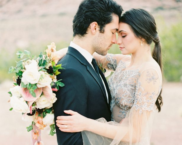 Modern Desert Wedding Inspiration with Boho Romance Vibes