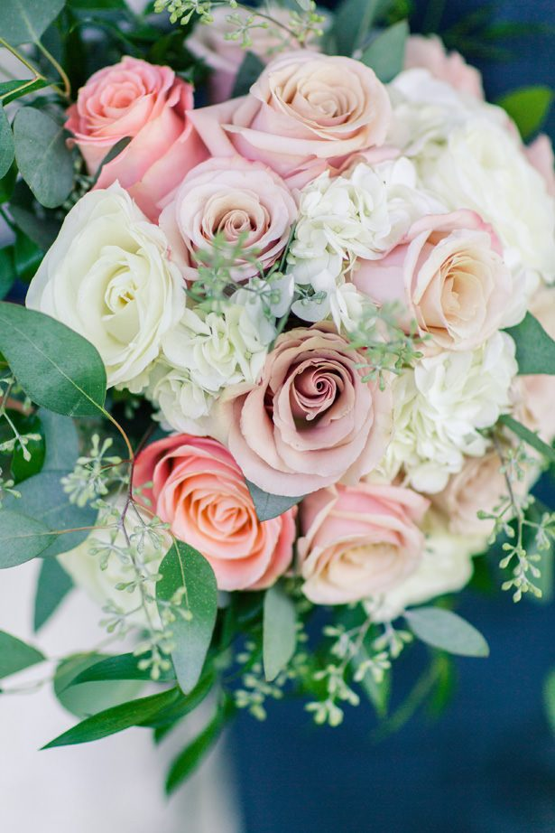Rose Pastel Wedding Bouquet - Alisha Marie Photography