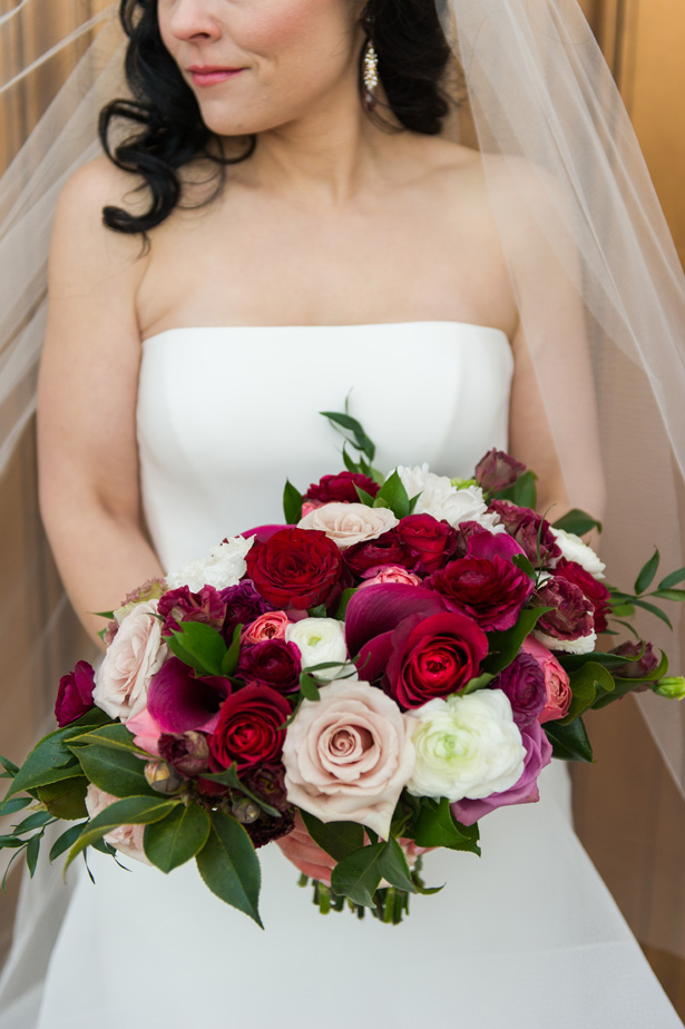 Rose Wedding Bouquet - Jean Smith Photography