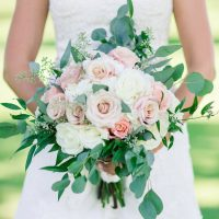 Rose Wedding Bouquet - Alisha Marie Photography