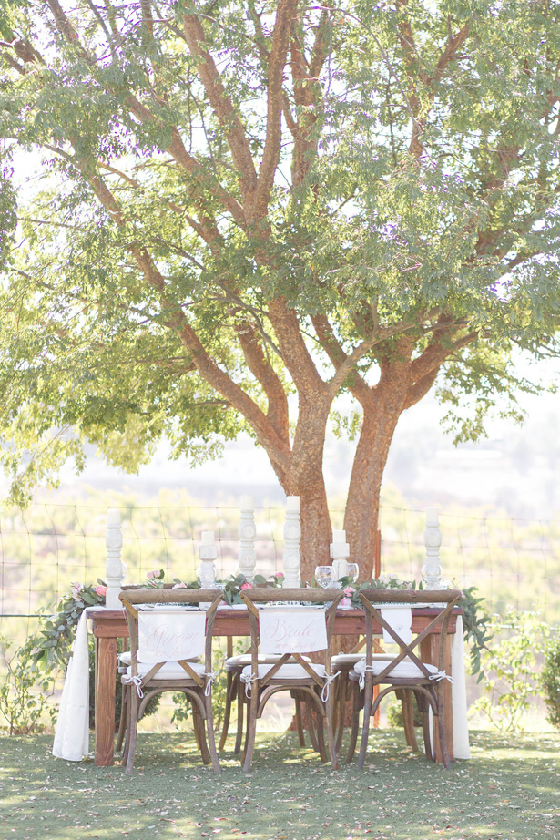 Rustic Romance Wedding Tablescape - Janita Mestre Photography