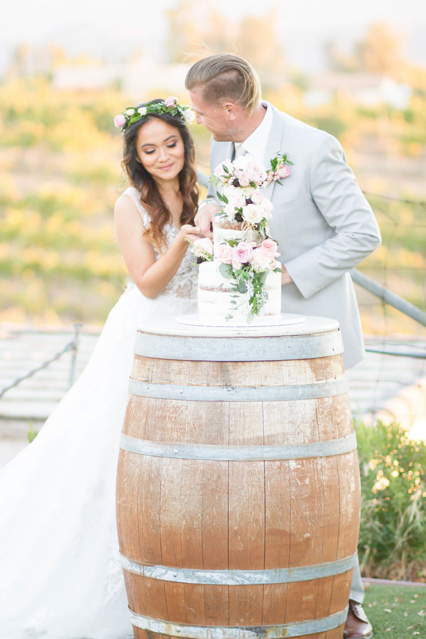 Rustic Romance Winery Wedding Inspiration- Janita Mestre Photography