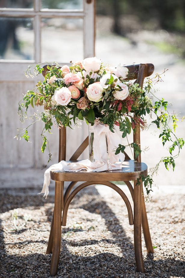 Rustic Wedding Bouquet - Tina Joiner Photography