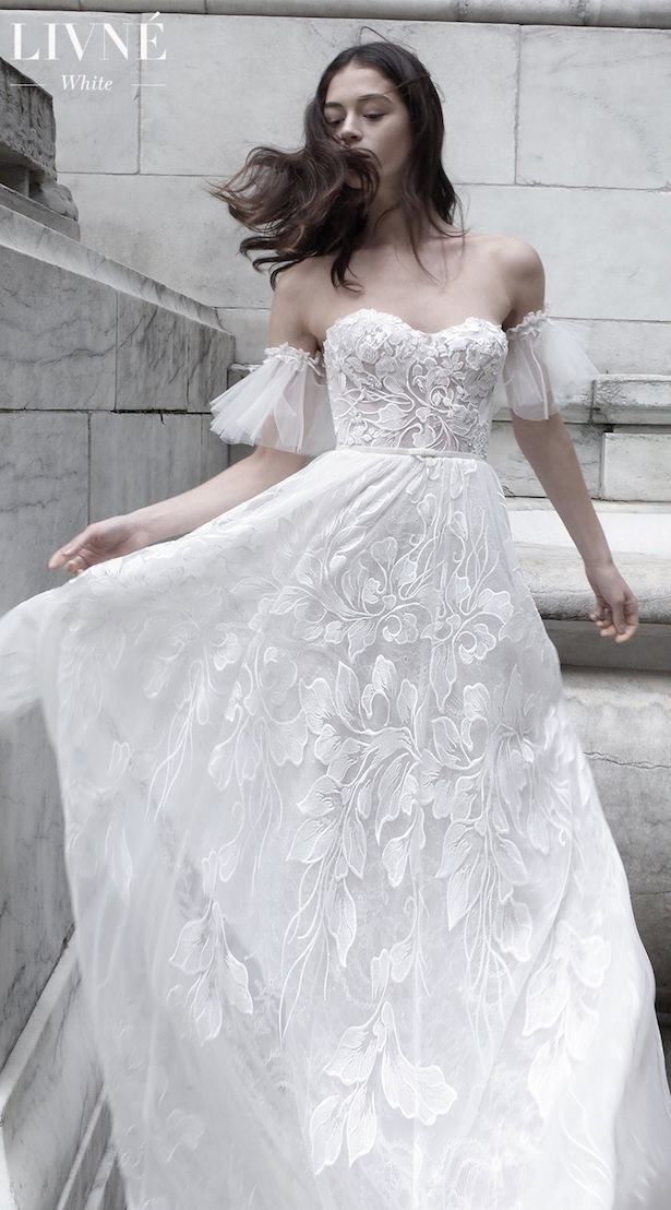 Slay Worthy Wedding Dresses from Livné White - GABRIELLE