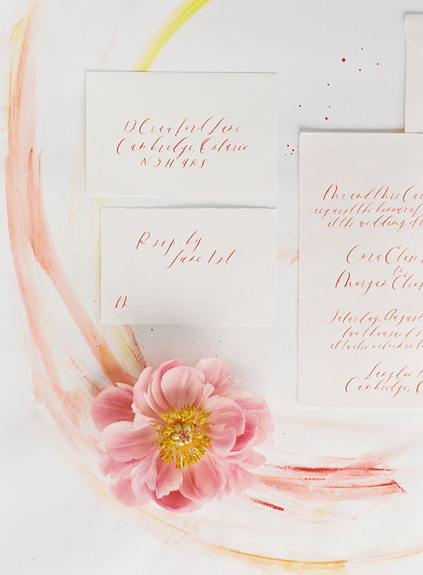 Spring Wedding Invitations - Whitney Heard Photography