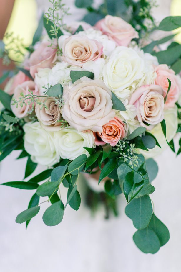 Summer Wedding Bouquet - Alisha Marie Photography