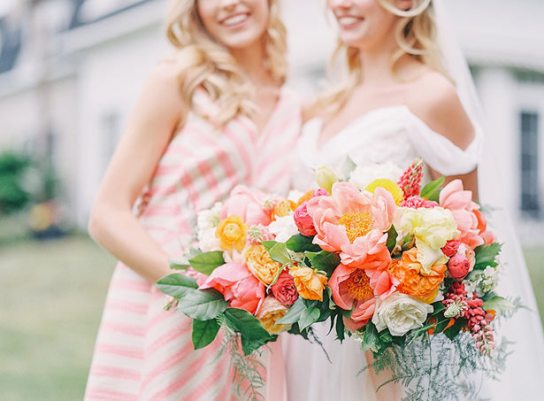 Summer Wedding Bouquet - Whitney Heard Photography