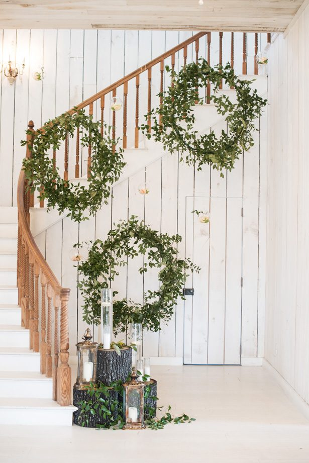 Wedding Greenery - Tina Joiner Photography