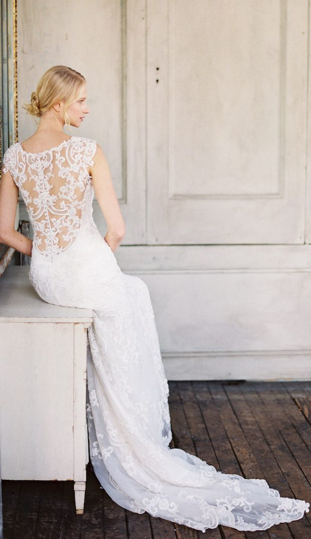 Vintage Bride Wedding Dress by Maggie Sottero Designs - Judy Pak Photography