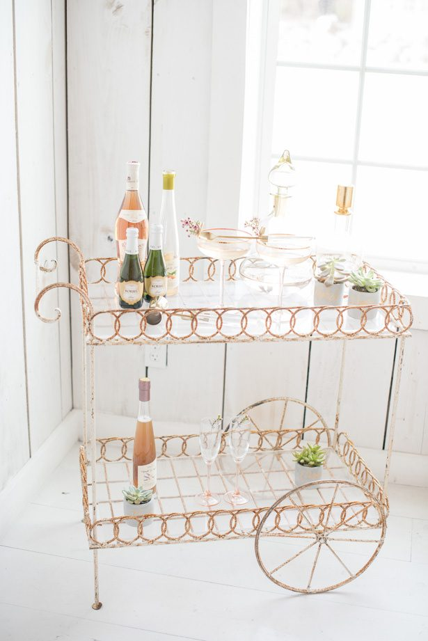 Wedding Martini Table - Tina Joiner Photography
