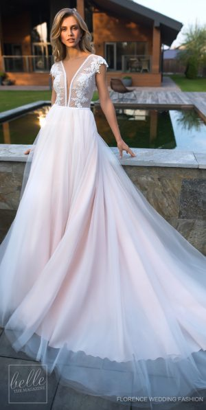 Wedding Dress by Florence Wedding Fashion 2019 Despacito Bridal Collection