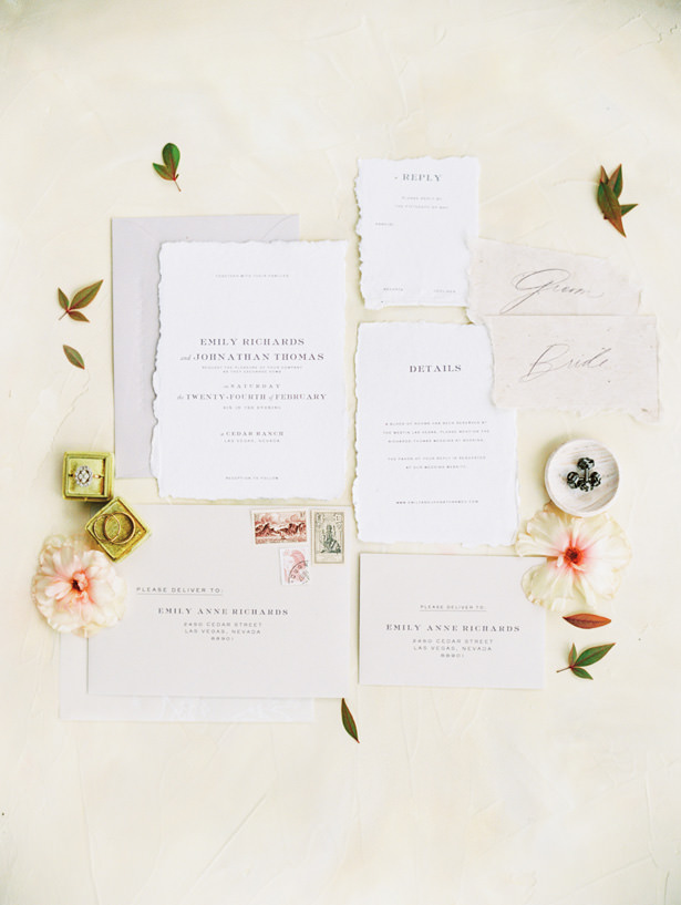 Wedding Invitation - Matthew Nigel Photography