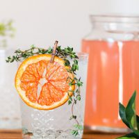 Wedding Signature Citrus Drink - Holley Elizabeth Photography