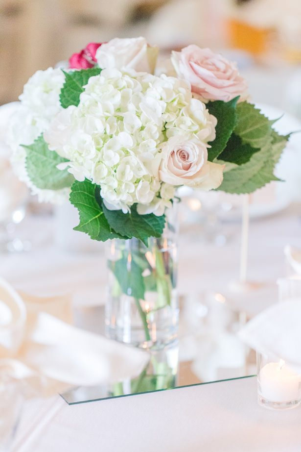 Wedding Table Centerpiece - Alisha Marie Photography
