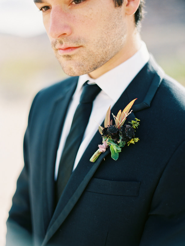 Wedding boutonniere - Matthew Nigel Photography
