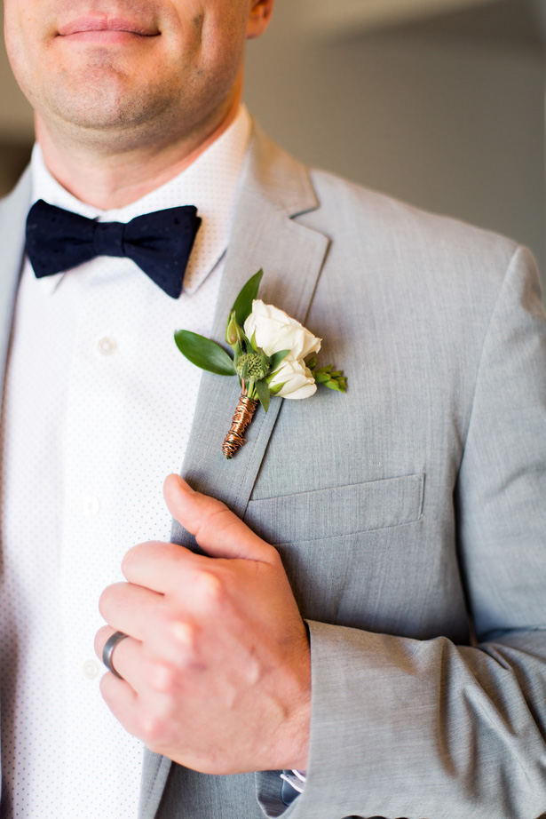Wedding boutonniere - Holley Elizabeth Photography