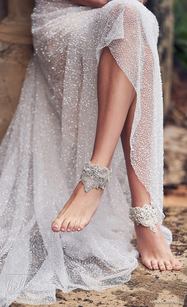 Anna Campbell 2019Wedding Dresses Wonderlust Bridal Collection - Blossom Footcuffs