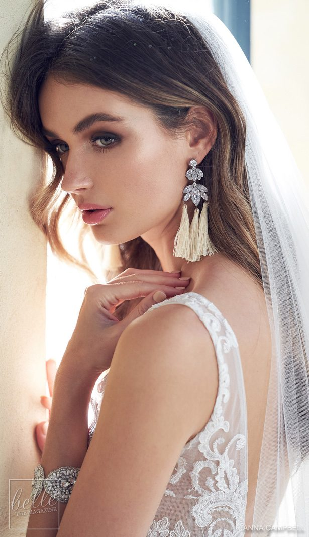 Anna Campbell 2019Wedding Dresses Wonderlust Bridal Collection - Natalia Tassel Earrings