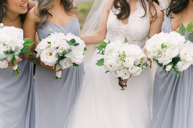 Bridal Party Bouquets - Anna Smith Photo