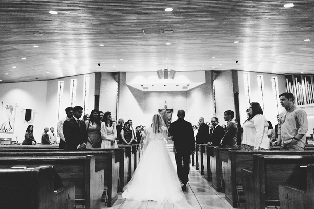 Gorgeous Church Wedding Ceremony - Anna Smith Photo