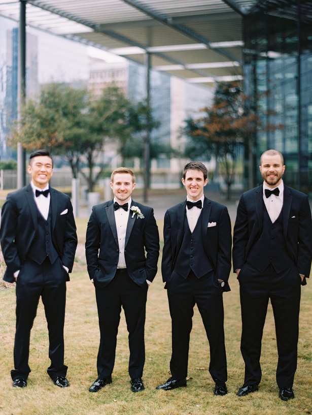 Groomsmen Tuxedo - Anna Smith Photo