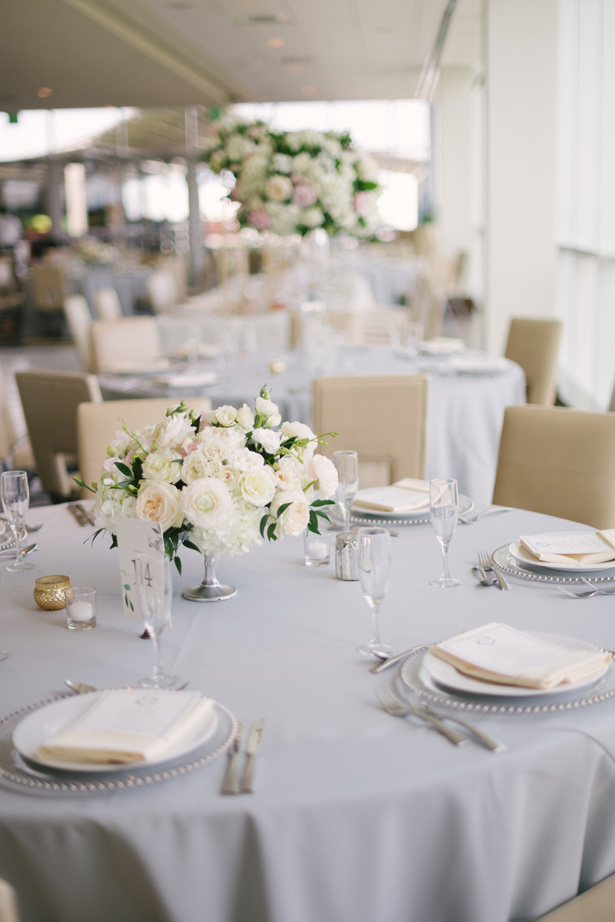 Light and Airy Wedding Reception Decor - Anna Smith Photo
