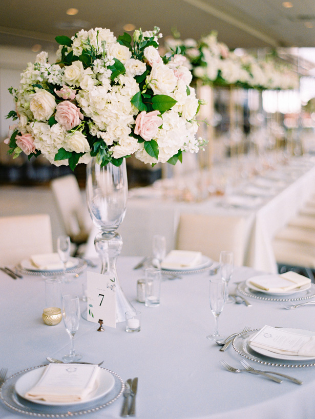 Light and Airy Wedding Reception Details - Anna Smith Photo