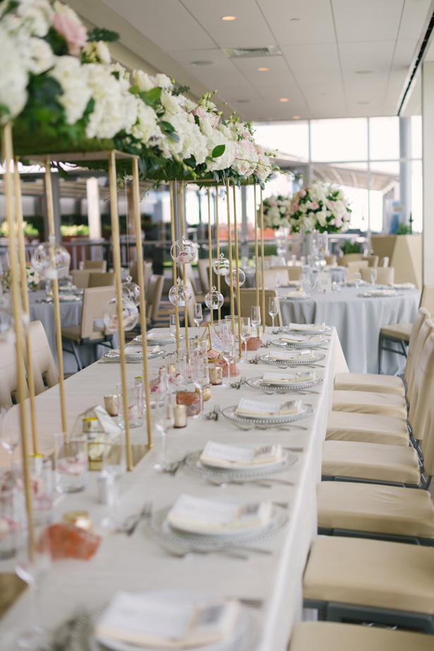 Long Wedding Table - Anna Smith Photo