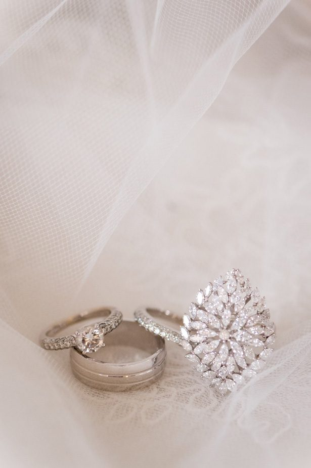Luxury wedding rings - Photographer: Julia Franzosa