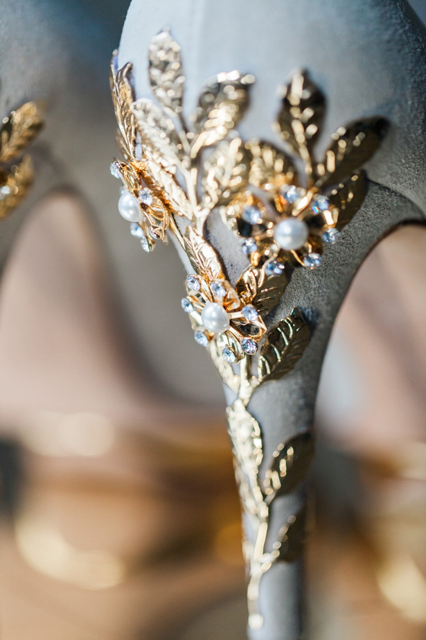 Luxury wedding shoes - Amanda Karen Photography