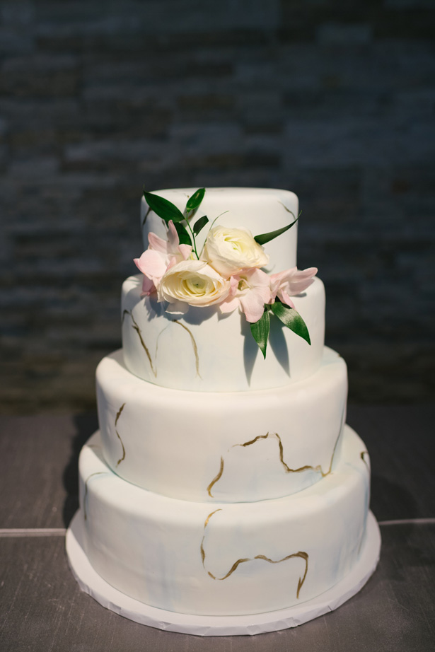 Modern Wedding Cake - Anna Smith Photo