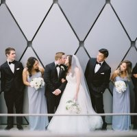 Modern Wedding Party - Anna Smith Photo