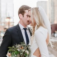 Romantic wedding photo- Nicole Jansma Photography