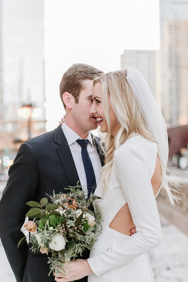 Chic Intimate Winter Wedding