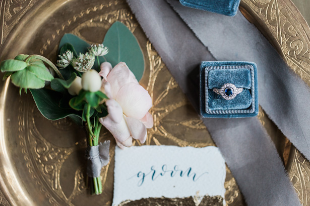 Vintage wedding details - Amanda Karen Photography