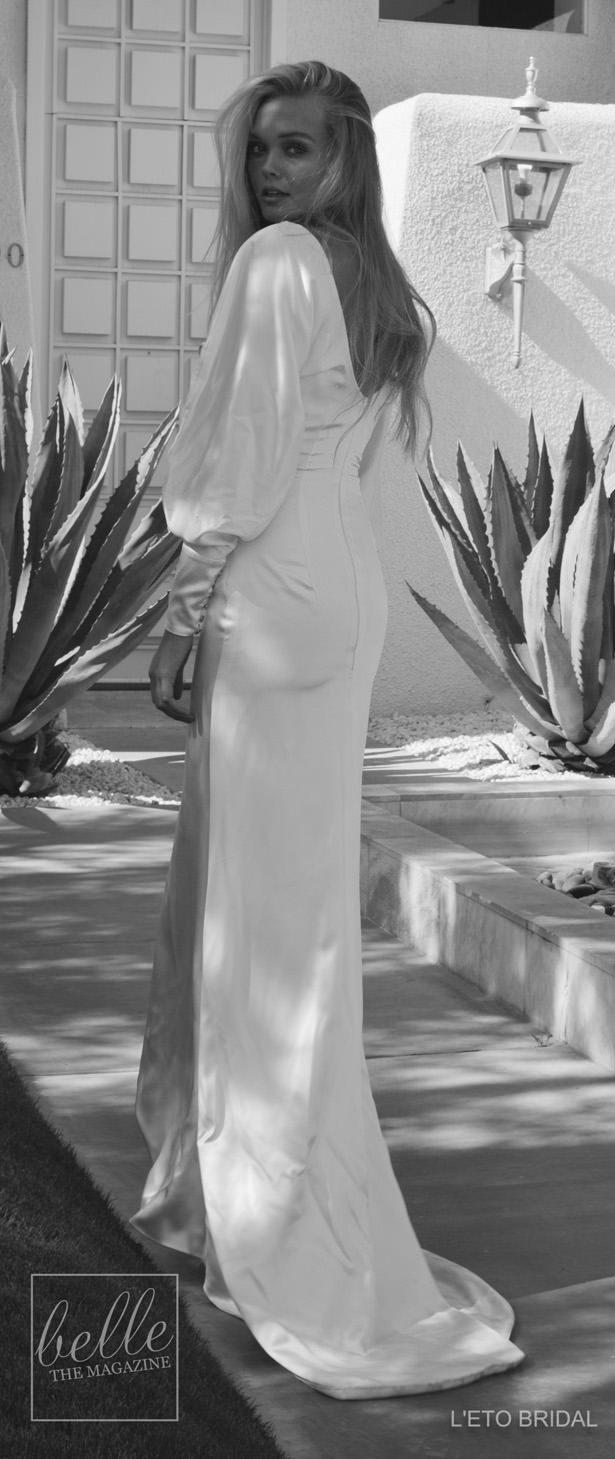Wedding Dress by L'eto Bridal Australia - Palm Springs Collection